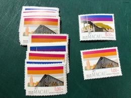MACAU 1994 BRIDGES - SET OF 2, UM VF - Macao