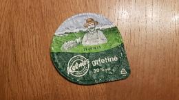 Lithuania Litauen  Sour Cream Horses 30% - Milk Tops (Milk Lids)