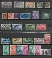 ITALIE-AERIEN -27 TRES BEAUX TIMBRES OBLITERES  -DEPUIS 1917 - 1900-44 Victor Emmanuel III
