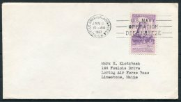 1957 USA Little America, Antactica, Operation Deep Freeze, Antarctic Polar Cover - Arctic Expeditions