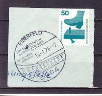 Briefstueck, EF Unfallverhuetung, SoSt Eine Der Hoechsten Autobahnbruecken Eiserfeld, 1976 (57973) - [7] República Federal