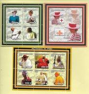 TIMBRES - STAMPS - MOZAMBIQUE - 2002 - LES VOYAGES DU PAPE JEAN PAUL II ET LA PRINCESSE DIANA - TIMBRES NEUFS - MNH - Angola