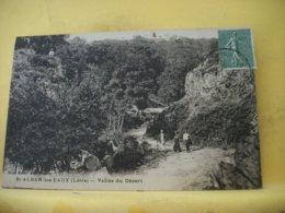 42 2887. CPA 1924 - 42 SAINT ALBAN LES EAUX. VALLEE DU DESERT -ANIMATION - AUTRE VUE DIFFERENTE N° 3 - France