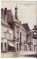 Cpa  Ste Maure De Touraine  Hotel De Ville - Other Municipalities