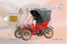 SLOVENIA SCHEDA TELEFONICA  Piccolo 6HP - Cars