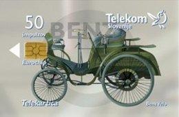 SLOVENIA SCHEDA TELEFONICA Benz Velo Comfortable - Cars