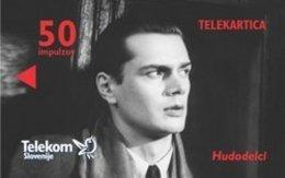 SLOVENIA SCHEDA TELEFONICA 100 Years Of Film In Slovenia - The Felons - CINEMA - Schede Telefoniche
