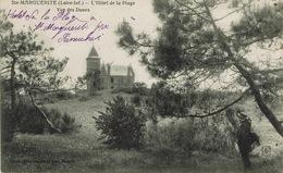 Pornichet (106), Ste-Marguerite, L'Hôtel De La Plage, Vue Des Dunes,  Jolie Carte - Pornichet