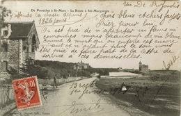 Pornichet (107), De Pornichet à St-Marc, La Route à Ste-Marguerite,  Jolie Carte - Pornichet