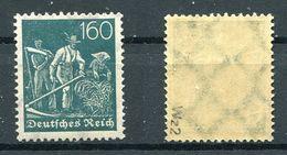 Deutsches Reich Michel-Nr. 190 Postfrisch - Geprüft - Nuevos