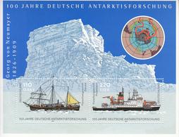 2001 Germany Antarctica  Souvenir Sheet  MNH @ BELOW FACE VALUE - Stamps