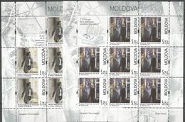 """MD 2013- 130A°POEM """"LUCEAFARUL"""", MOLDAVIA, 2MS, MNH - Moldawien (Moldau)"""
