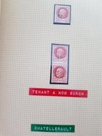Lot Liberation Chatellerault, 1f50 Bersier 1 + 1 Tenant à Non Surchargé - Libération