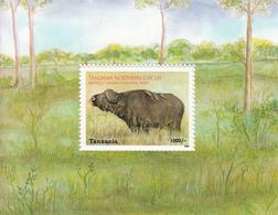 2003 Tanzania Buffalo National Park   Souvenir Sheet Complete - Tanzanie (1964-...)