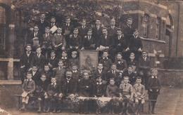 Fotokaart Carte Photo Liège Classe De Chant St Jean Berchmans 1920-1921 - Liege