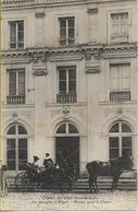 Château Des VAUX (Eure Et Loir) La Marquise D'ALIGRE Départ Pour La Chasse (en Calèche...) - France
