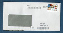 Privatpost - Arriva / Südmail - Gel. Umschlag Mit Label M / Standartmarke - 52 - BRD