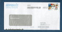 Privatpost - Arriva / Südmail - Gel. Umschlag Mit Label M / Standartmarke - 55 - BRD