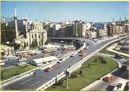 TURCHIA - Turkey - TURKIYE - Istanbul - 1974 - 100 + 25 - Istanbul - Aksaray Meydani Ve Valde Camii - Viaggiata Da ???? - Türkei