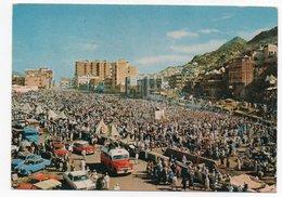 SAUDI ARABIA/ARABIE SAOUDITE - GENERAL VIEW OF DEVILS IN MINA / OLD CARS / TRUCKS/ISLAM / THEMATIC STAMP- STAMP ON STAMP - Arabia Saudita