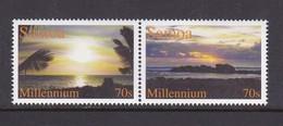 Samoa SG 1058-1059 2000 Millennium.mint Never Hinged - Samoa