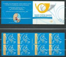 Slovenia - 2004 Mail Horn / Post Horn - Self-Adhesive - Booklet - MNH - Slovenia