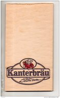 BISTROT . CARNET PUBLICITAIRE . KANTERBRÄU LA BIÈRE DE MAÎTRE KANTER - Réf. N°17530 - - Autres Collections