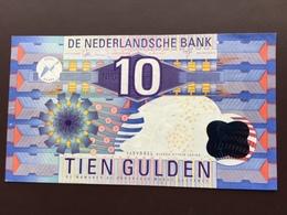NEDERLAND P99 10 GULDEN 1997 AUNC - [2] 1815-… : Royaume Des Pays-Bas