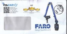 Slovenia 2018 / IB CADDY - Faro Design Scan Arm - Robotics - Fábricas Y Industrias