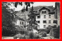CPSM/pf (38) ALLEVARD-les-BAINS.  Hôtel Beau-Site, Le Parc...H605 - Allevard