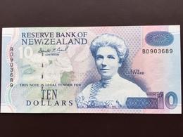 NEW ZELAND P178 10 DOLLARS 1993 UNC - Nouvelle-Zélande
