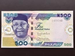 NIGERIA  500 NAIRA 2011 UNC - Nigeria