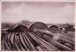 Italie, Milano Stazione Centrale, Chemin De Fer, Gare Et Train (3) - Bahnhöfe Mit Zügen