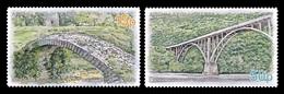 Abkhazia 2018 Mih. 1013/14 Bridges. Besleti Bridge And Gumista Bridge MNH ** - Georgia