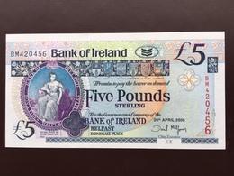 NORTHERN IRELAND P83 5 POUNDS 20.04.2008 UNC - 5 Pounds