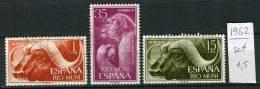 265823 Spanish Rio Muni 1962 Year MNH Stamps Set MONKEY BULL - Winter 1992: Albertville