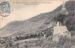Environs De GRENOBLE La Chapelle Du Couvent De MONT FLEURY Le Mont Jallaa Et La Bastille 9(scan Recto-verso) MA1901 - Grenoble
