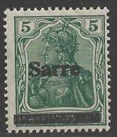 1920 5pf Overprint, Mint Never Hinged - 1920-35 League Of Nations