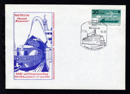 ERFURT 1 5010 NAUTICA 84 15 Jahre AK Schiffspost 17.06.84 Auf Sonderumschlag  - Allemagne