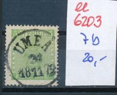 Schweden  Nr.  7  O ( Ee6203  ) Siehe Scan - Oblitérés