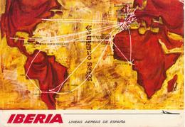 IBERIA Lineas Aereas De Espana - Publicité