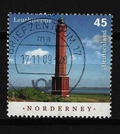 BUND - Mi-Nr. 2742 Leuchtturm Norderney Gestempelt (7) - Gebraucht