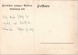 ! Alte Ansichtskarte Schloß Heidecksburg, Rudolstadt, Thüringen, Bundestag 1931 Freischar Junger Nation, Ereignis, - Rudolstadt