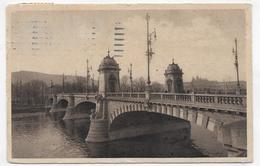 (RECTO / VERSO) PRAGUE - PRAHA EN 1927 - PONT - BEAU CACHET ET TIMBRE - CPA VOYAGEE - Czech Republic