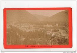31 - PHOTOGRAPHIE LUCHONNAISE . LUCHON ET LE PARC DES THERMES . PHOTO E. SOULÉ - Réf. N°11807 - - Lieux