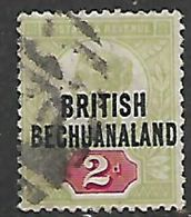 Bechuanaland, 1891, Opt On 2d Of Great Britain, Used,v - Bechuanaland (...-1966)