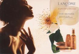 LANCOME Paris - Star Bronzer - Publicité