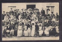 CPA 95 - BOISSY-L'AILLERIE - Une Noce Villageoise Le 14 Juillet 1911 - SUPERBE GROS PLAN ANIMATION Personnages - Boissy-l'Aillerie