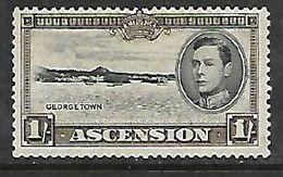 Ascension Island, George VI, 1944, 1/=, Perf 13.5, MNH ** - Ascension