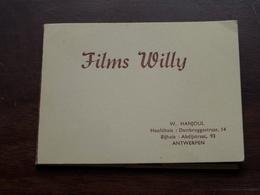 Films WILLY Dambruggestr. ANTWERPEN ( Klein Album 11,5 X 8,5 Cm.) > Anno 19?? ( Zie/voir Photo ) ! - Supplies And Equipment